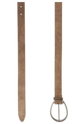Женский кожаный ремень BRUNELLO CUCINELLI коричневого цвета, арт. M0DELC242P   Фото 2