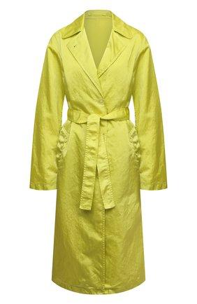 Женский плащ DRIES VAN NOTEN светло-зеленого цвета, арт. 211-10240-2171   Фото 1