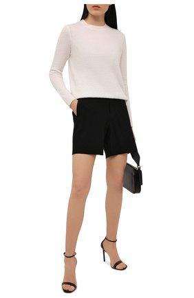 Женские шорты YOHJI YAMAMOTO черного цвета, арт. FD-P06-200   Фото 2