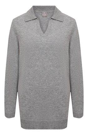 Женский кашемировый пуловер FTC серого цвета, арт. 820-0470   Фото 1