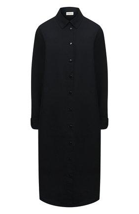 Женское хлопковое платье 5PREVIEW черного цвета, арт. 5PW21007 | Фото 1