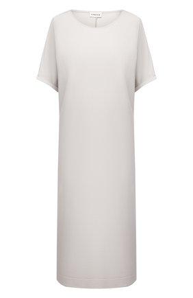 Женское платье 5PREVIEW светло-серого цвета, арт. 5PW21046 | Фото 1