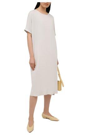 Женское платье 5PREVIEW светло-серого цвета, арт. 5PW21046 | Фото 2