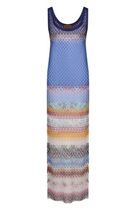 Женское платье из вискозы MISSONI разноцветного цвета, арт. MMQ00244/BR00E4 | Фото 1