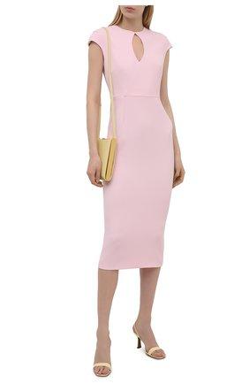 Женское платье ROLAND MOURET светло-розового цвета, арт. SS21/S2270/F2196   Фото 2