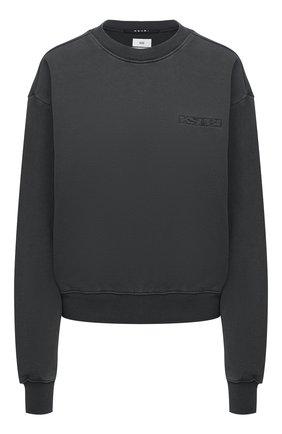 Женский хлопковый свитшот KSUBI серого цвета, арт. 5000005849   Фото 1