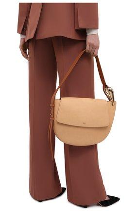 Женская сумка kiss CHLOÉ бежевого цвета, арт. CHC21US352E68   Фото 2