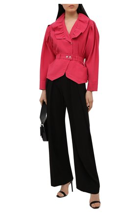 Женский жакет изо льна и хлопка ISABEL MARANT розового цвета, арт. VE1578-21E012I/EPALINE   Фото 2