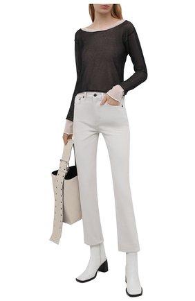 Женские джинсы THE ROW серого цвета, арт. 5282W1954 | Фото 2