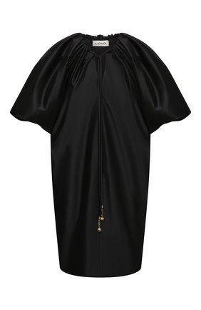 Женское платье LANVIN черного цвета, арт. RW-DR0005-4878-E21 | Фото 1