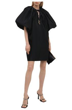 Женское платье LANVIN черного цвета, арт. RW-DR0005-4878-E21 | Фото 2