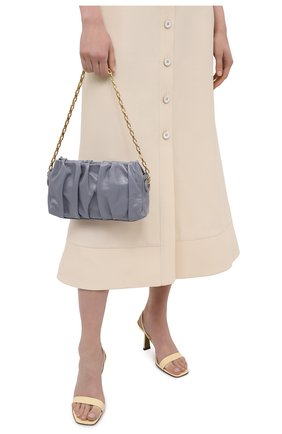 Женская сумка vague ELLEME светло-серого цвета, арт. VAGUE WITH CHAIN/LEATHER | Фото 2