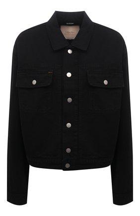 Женская джинсовая куртка CALVIN KLEIN JEANS черного цвета, арт. K10K108256 | Фото 1