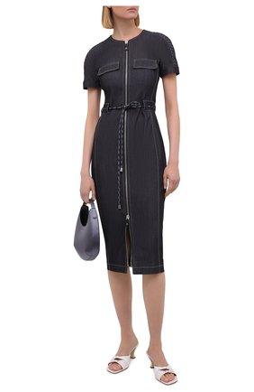 Женское джинсовое платье GIORGIO ARMANI темно-синего цвета, арт. 1WHVA08K/T02T5   Фото 2