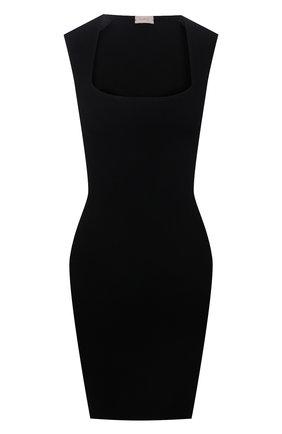 Женское платье из вискозы MRZ черного цвета, арт. S21-0032 | Фото 1