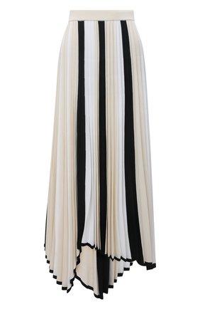 Женская плиссированная юбка MRZ черно-белого цвета, арт. S21-0350 | Фото 1