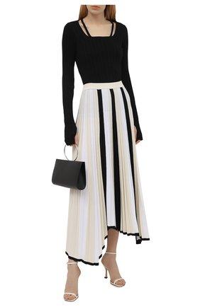 Женская плиссированная юбка MRZ черно-белого цвета, арт. S21-0350 | Фото 2