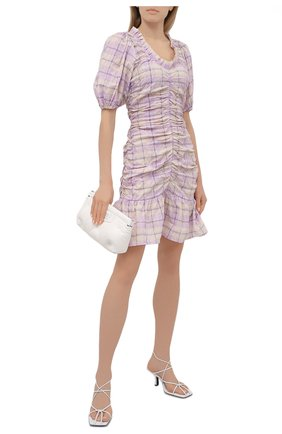 Женское платье GANNI сиреневого цвета, арт. F5850 | Фото 2