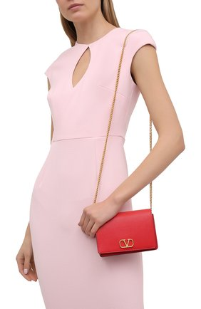 Женская сумка vsling VALENTINO красного цвета, арт. VW0P0V34/SNP | Фото 2