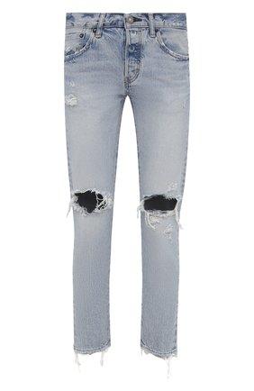 Женские джинсы MOUSSY голубого цвета, арт. 025ESC11-2400 | Фото 1