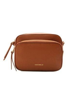 Женская сумка lea COCCINELLE коричневого цвета, арт. E1 H60 15 01 01   Фото 1
