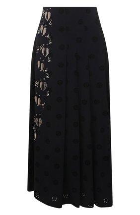 Женская юбка CHLOÉ черного цвета, арт. CHC21UJU09482 | Фото 1