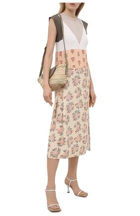 Платье из хлопка и вискозы | Фото №2