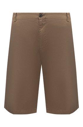 Мужские хлопковые шорты PAUL&SHARK бежевого цвета, арт. 21414003/E7A | Фото 1
