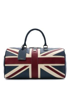Мужская кожаная дорожная сумка ASPINAL OF LONDON разноцветного цвета, арт. 025-1096_08460000 | Фото 1