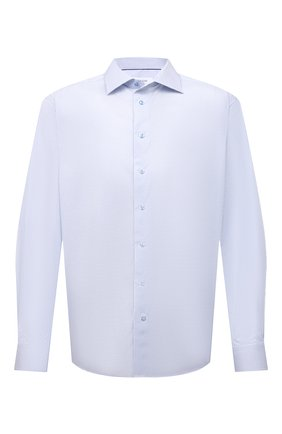 Мужская хлопковая сорочка ETON голубого цвета, арт. 1000 02206 | Фото 1
