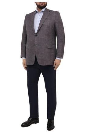 Мужская хлопковая сорочка ETON голубого цвета, арт. 1000 02206 | Фото 2