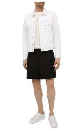 Мужская джинсовая куртка POLO RALPH LAUREN белого цвета, арт. 710833150 | Фото 2