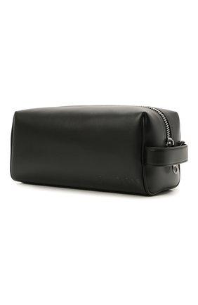 Мужской кожаный несессер BURBERRY черного цвета, арт. 8039015 | Фото 2