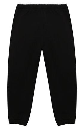 Детские хлопковые джоггеры AXEL ARIGATO черного цвета, арт. 15519   Фото 2 (Материал внешний: Хлопок; Мальчики Кросс-КТ: Брюки-спорт; Ростовка одежда: 36 мес   98 см, 4 года   104 см, 6 лет   116 см, 8 лет   128 см)