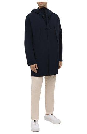 Мужская парка C.P. COMPANY темно-синего цвета, арт. 10CM0W018A-004117A | Фото 2