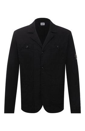 Мужской пиджак C.P. COMPANY черного цвета, арт. 10CMBZ251A-005746G | Фото 1