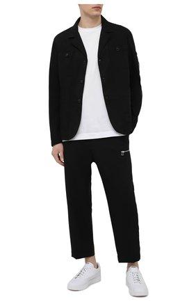 Мужской пиджак C.P. COMPANY черного цвета, арт. 10CMBZ251A-005746G | Фото 2