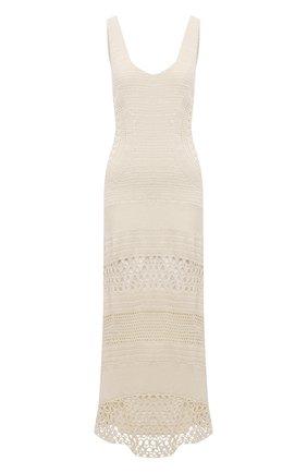 Женское кашемировое платье GABRIELA HEARST кремвого цвета, арт. 221922A A039 | Фото 1