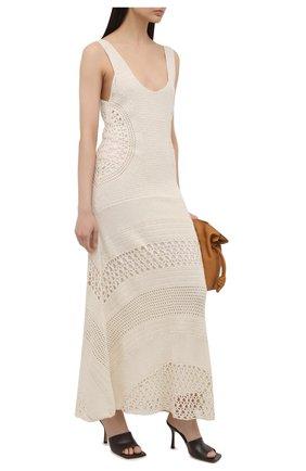 Женское кашемировое платье GABRIELA HEARST кремвого цвета, арт. 221922A A039 | Фото 2