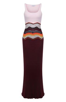 Платье из кашемира и шелка | Фото №1