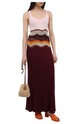 Платье из кашемира и шелка | Фото №2