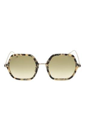 Женские солнцезащитные очки ISABEL MARANT серого цвета, арт. IM0036 9G0 | Фото 3