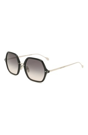 Женские солнцезащитные очки ISABEL MARANT черного цвета, арт. IM0036 BSC | Фото 1