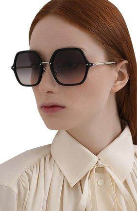 Женские солнцезащитные очки ISABEL MARANT черного цвета, арт. IM0036 BSC | Фото 2