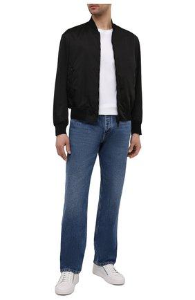 Мужские кожаные кеды HUGO белого цвета, арт. 50451721 | Фото 2 (Подошва: Массивная)