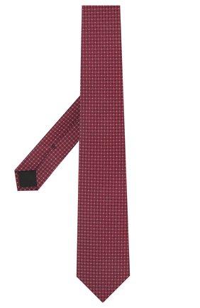 Мужской шелковый галстук BOSS кораллового цвета, арт. 50455243 | Фото 2