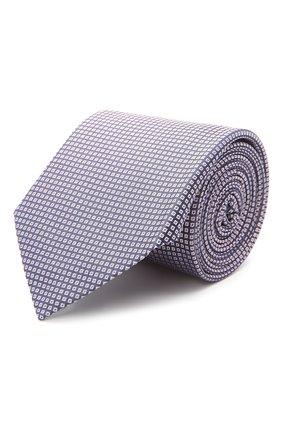 Мужской шелковый галстук BOSS розового цвета, арт. 50455523 | Фото 1