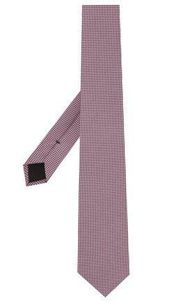 Мужской шелковый галстук BOSS розового цвета, арт. 50455334 | Фото 2
