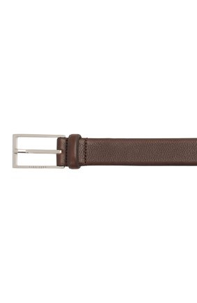 Мужской кожаный ремень BOSS коричневого цвета, арт. 50435216 | Фото 3