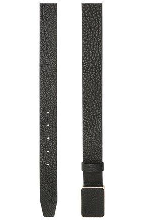 Мужской кожаный ремень BOSS черного цвета, арт. 50455782 | Фото 2